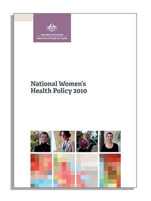 cover - national women's health policy 2010