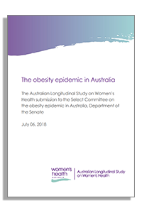 Submission to the Senate Inqiry into obesity in Australia